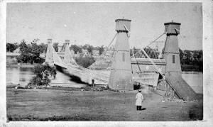 Hennepin Avenue Bridge 1865