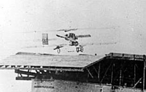 Ely Lands on USS Pennsylvania