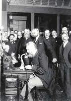 The First Transcontinental Phone Call