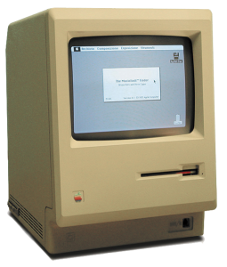 The Original Macintosh Computer