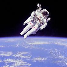 First Untethered Space Walk