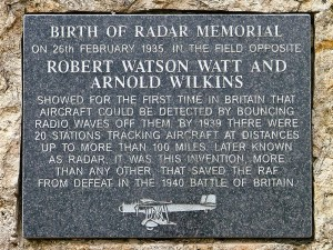 RADAR Plaque