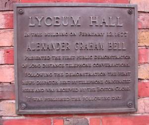 Bell Plaque