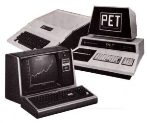 Apple II, Commodore PET, TRS-80