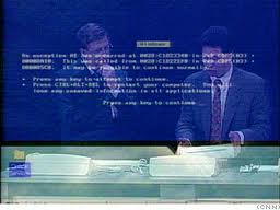 Windows 98 BSOD