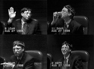 Bill Gates Testifying