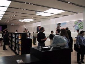 First Apple Store