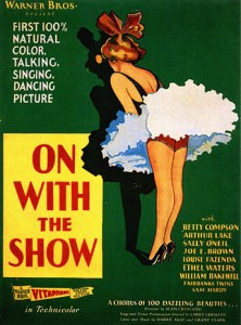 On With the Show 1929