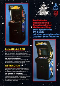 Lunar Lander and Asteroids