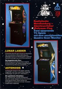 Lunar Lander and Asteroids