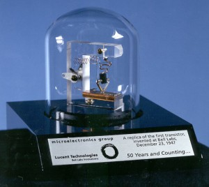 Replica of First Transistor