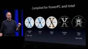 Mac OS X PowerPC and Intel