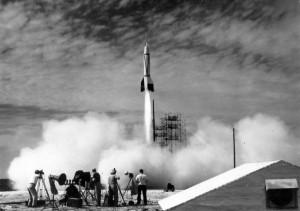 http://en.wikipedia.org/wiki/Bumper_(rocket)
