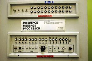 Interface Message Processor (IMP) Front Panel