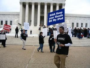 RIAA Protest