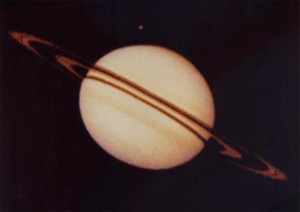 Saturn Photo by Pioneer 11
