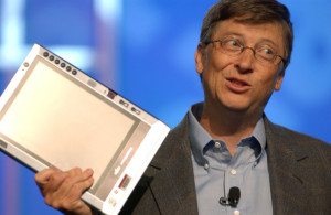 Bill Gates Tablet PC