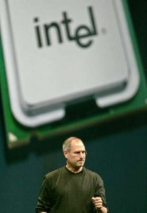 Steve Jobs and Intel