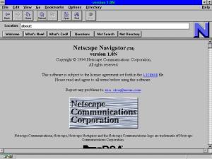 Netscape Navigator 1.0