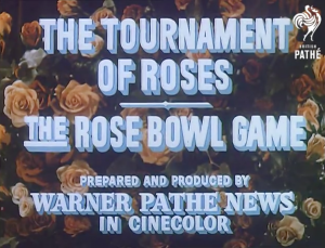 first color newsreel